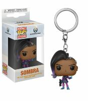 Брелок - Funko Pocket Pop! Overwatch Keychain - Sombra