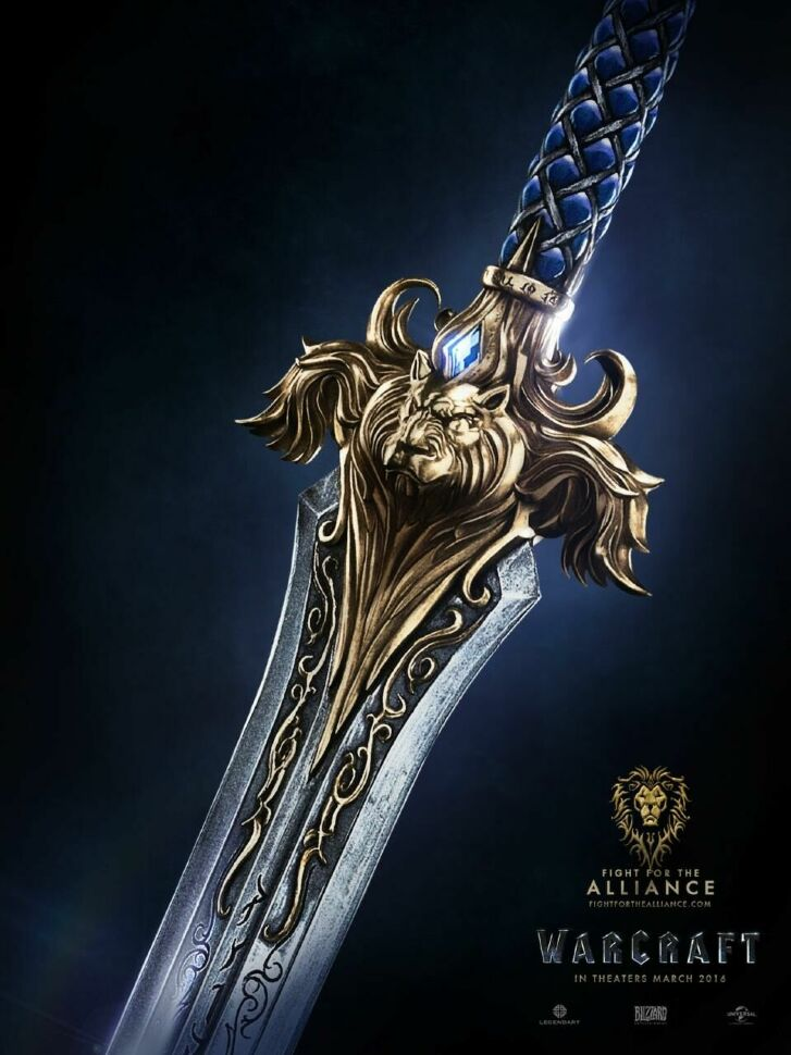 Кинжал Альянса World of Warcraft  Alliance sword Metal №2
