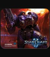 Коврик SteelSeries QcK StarCraft 2  Tychus Findlay