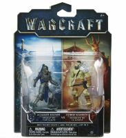 Фигурка Warcraft Movie - ALLIANCE SOLDIER VS HORDE WARRIOR Figure set