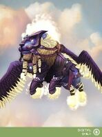 WoW Mount: Winged Guardian (крылатый страж)