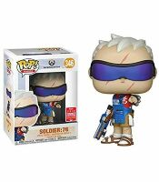 Фигурка Overwatch Funko POP! - Soldier 76 (Exclusive 2018 Summer Convention)