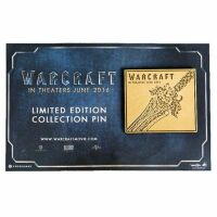 Значок Warcraft - Alliance collectible Pin - Sword