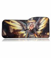 Коврик Overwatch Large Gaming Mouse Pad - Mercy Ангел (70*32 см) Curve