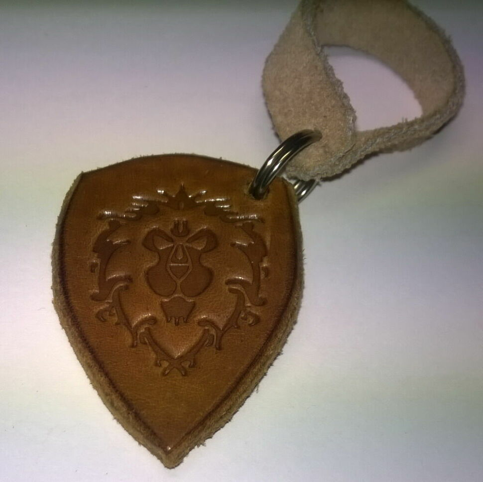 Брелок World of Warcraft Alliance Keychain (кожа)