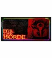 Коврик World of Warcraft Gaming Mouse Pad - Horde (60 *35 см) + Подсветка