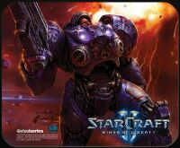 Коврик SteelSeries QcK mini StarCraft 2  Tychus Findlay (21 x 25 см.)