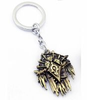 Брелок - World of Warcraft  Horde Metal Bronze