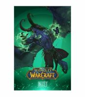 Плакат фирменный Blizzard - World of Warcraft Illidan Poster