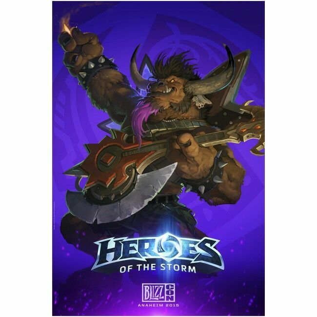Плакат фирменный Blizzard - Heroes of the Storm E.T.C. Poster