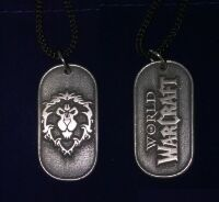 Медальон World of Warcraft - Alliance  Pewter