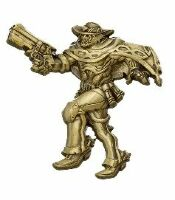 Значок 2018 Blizzcon Blizzard Collectibles Pins - Series 5 - Mccree Gold