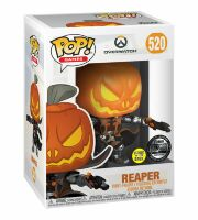 Фигурка 2019 BlizzCon Exclusive Overwatch Funko Pop Pumpkin Reaper 520