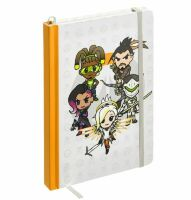 Блокнот Овервотч tokidoki x Overwatch Heroes Notebook