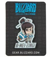 Значок Blizzard Collectible Pins - Cute But Deadly Mei Pin