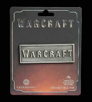 Значок collectible Pin WARCRAFT METAL LOGO PIN